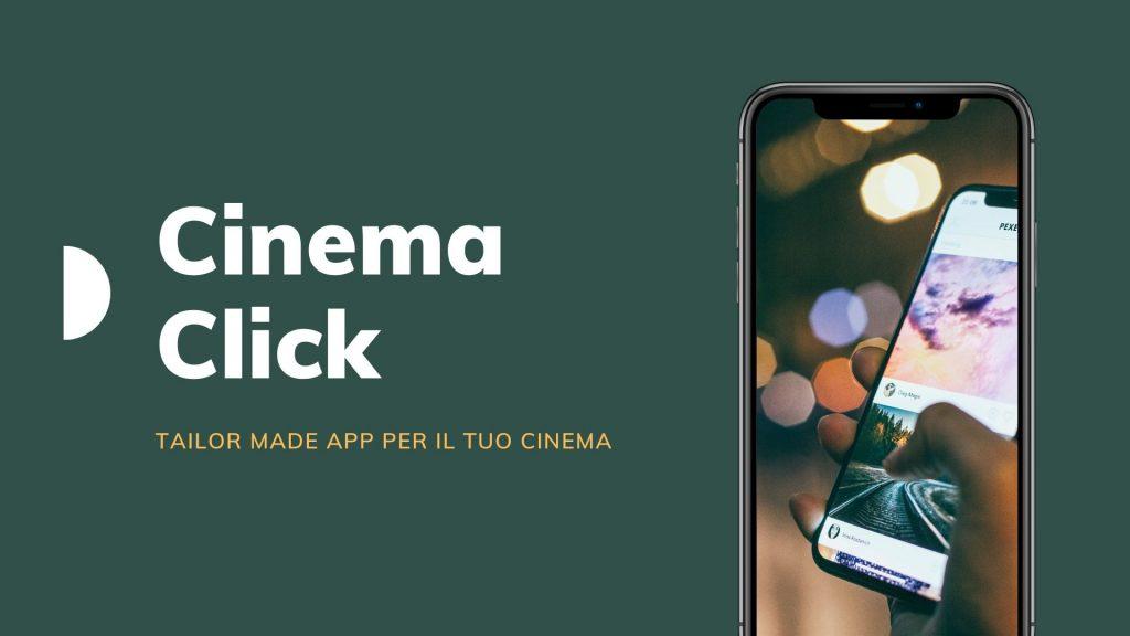 App CinemaClick per le sale cinematografiche